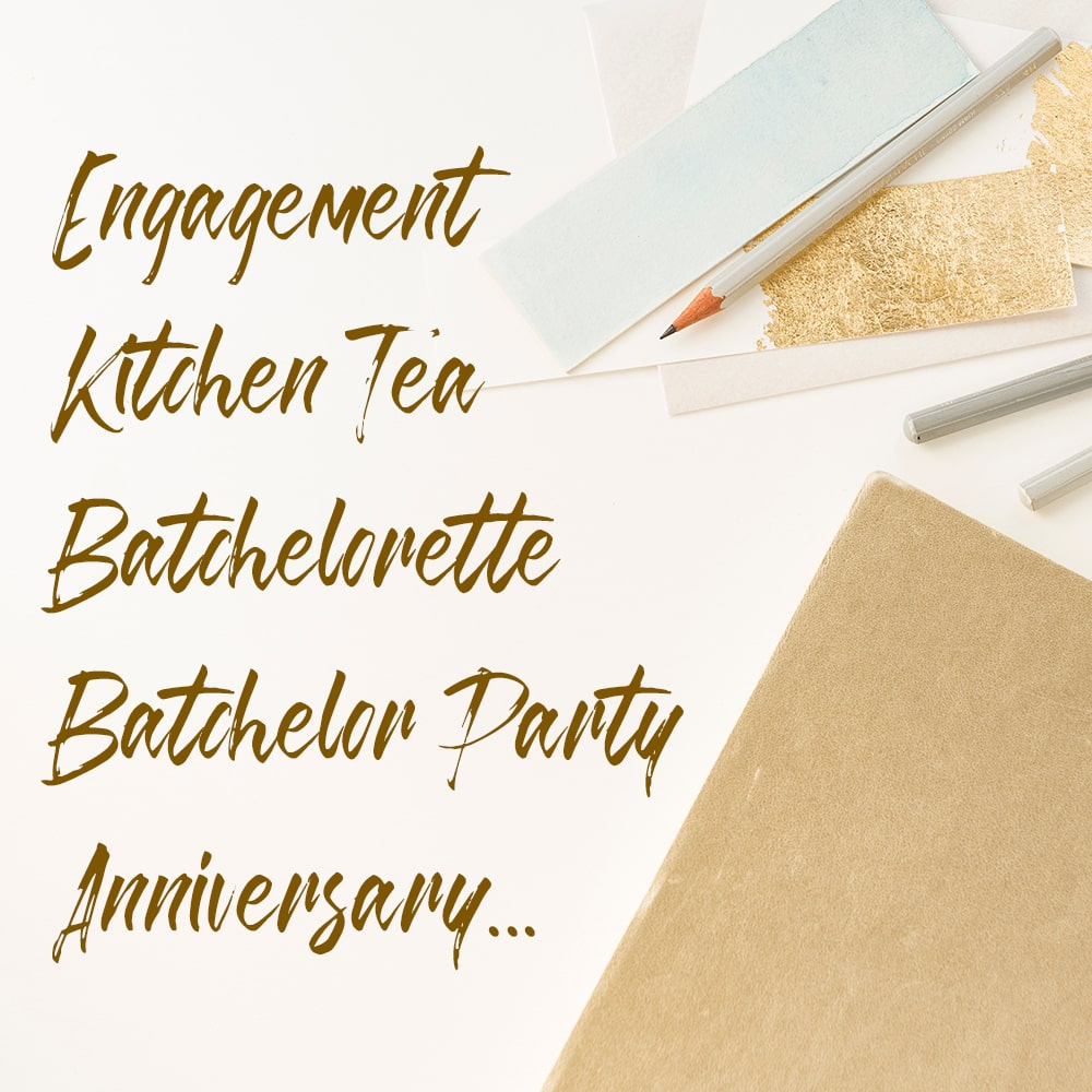 Wedding Party Invitations