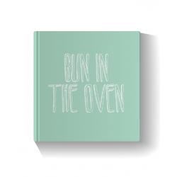 Bun in the Oven - Green Photo Book