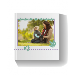 Mothersday Blue Photo Book