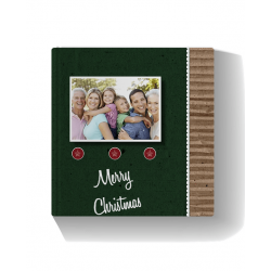 Recycled Christmas Photo Book