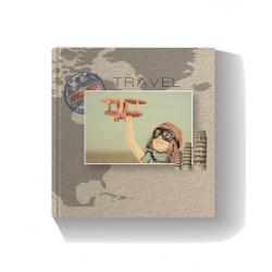 Travel City Scape Photo Book