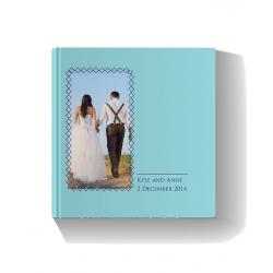 Wedding Book Blue Photo Book