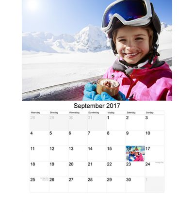 Portrait Calendar - Plain