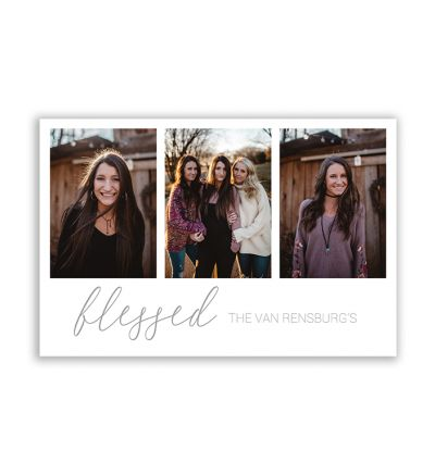 20x30cm Blessed Canvas Lite Print And Stretch Rectangle