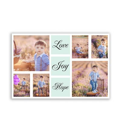 Love Joy Hope Canvas Print And Stretch Rectangle