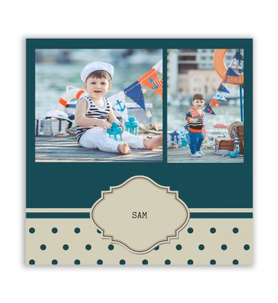 Baby Collage Canvas Print And Stretch Square