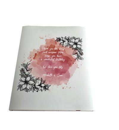 A4 Portrait Book Wrapper