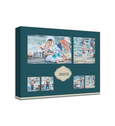 Baby Collage Canvas Print And Stretch Rectangle