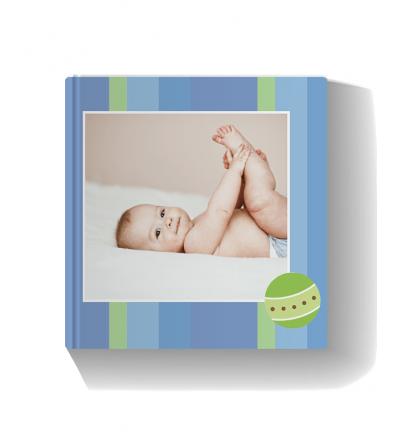 Baby Boy Photo Book