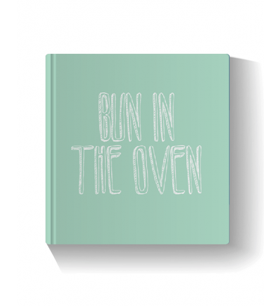 Bun in the Oven - Green Photo Book