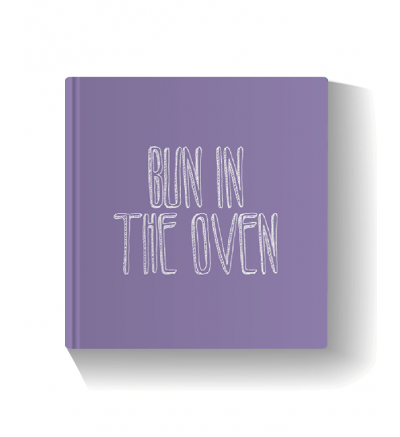 Bun in the Oven - Violet Photo Book