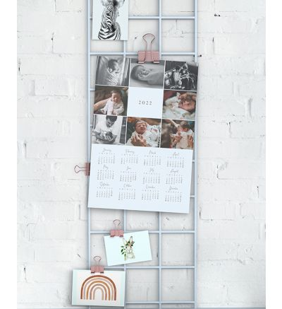 1 Page Calendar - Collage