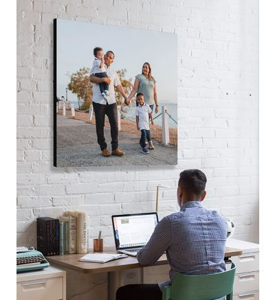 Your Design - Square Canvas Print and Stretch