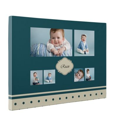 Baby Collage Canvas Print And Stretch