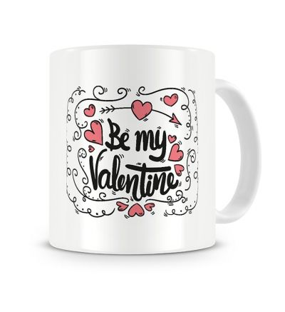 Colour Change Mugs Be My Valentine