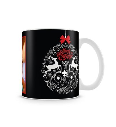 Colour Change Mugs Christmas Bauble