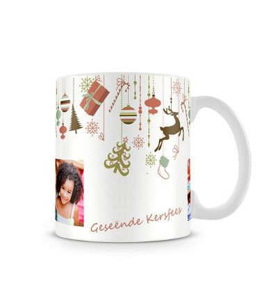 Colour Change Mugs Christmas Decor Afrikaans