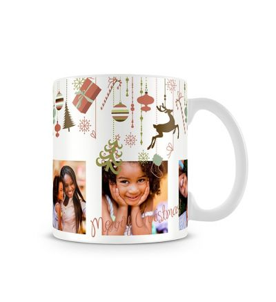 Colour Change Mugs Christmas Decor