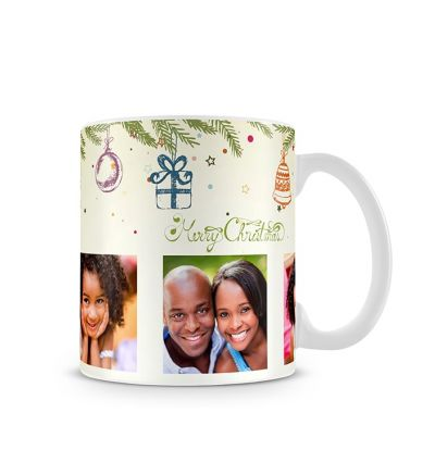 Colour Change Mugs Christmas Tree Decor