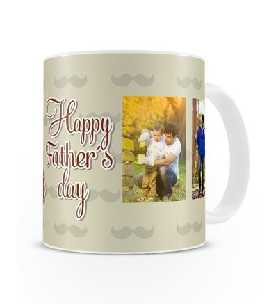 Colour Change Mugs Fathersday Diamond Tie