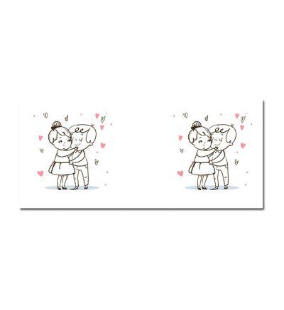 Colour Change Mugs In Love Hug