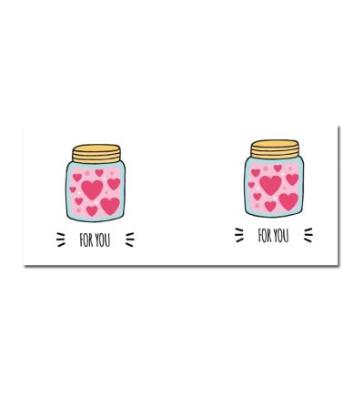 Colour Change Mugs Love Jar