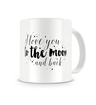 Colour Change Mugs Moon And Back