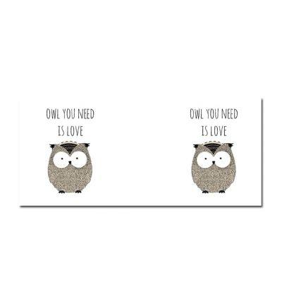Colour Change Mugs Owl Love