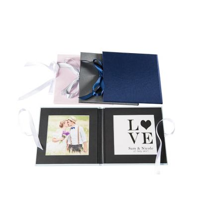 Picture Folio Crushed Silk Bifold