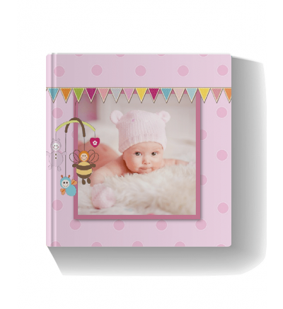 Cuddle Baby Pink Photo Book