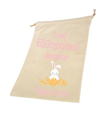 Daughter Personalised Draw String Bags