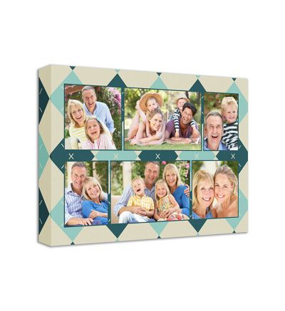 Diamonds Canvas Print And Stretch Rectangle