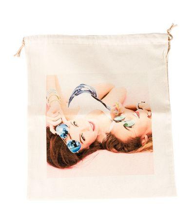 Ears Personalised Draw String Bags