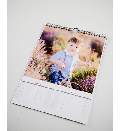 6 Page Calendar White 2020