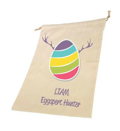 Eggspert Personalised Draw String Bags