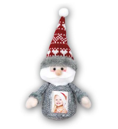 Christmas Soft Santa Pattern