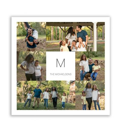 Family Collage Canvas Print And Stretch Square