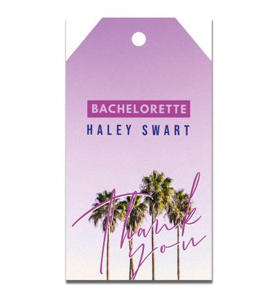 Parties - Bachelorette - Gift Tags - Beach Party