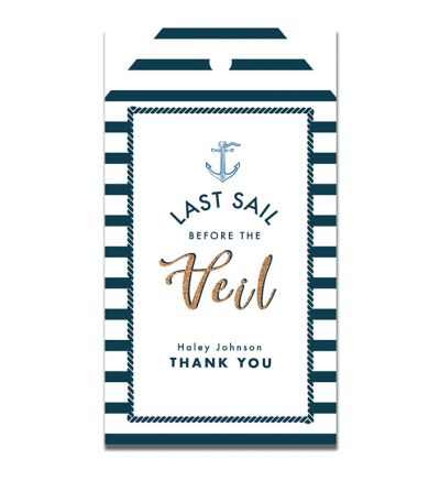 Parties - Bachelorette - Gift Tags - Last Sail