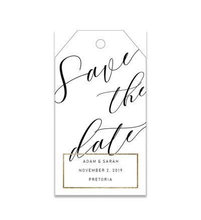 Gift Tags - 5x9 - Elegant - Set of 20