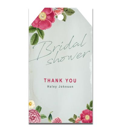Parties - Kitchen Tea - Gift Tags - Flower
