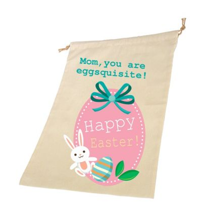 Happy Easter Personalised Draw String Bags
