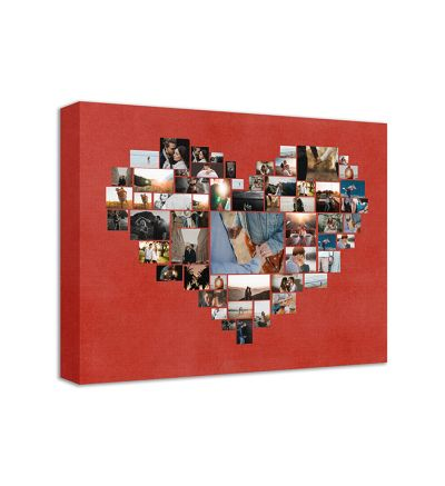 Heart of Memories Canvas Print And Stretch Rectangle
