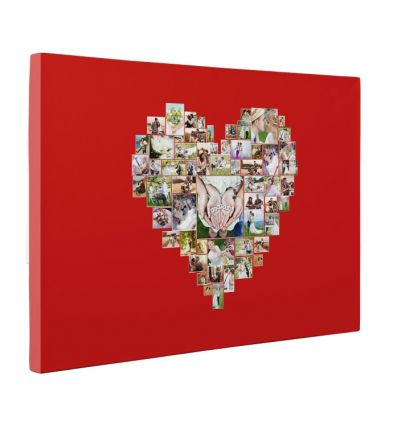Heart Of Memories Canvas Print And Stretch