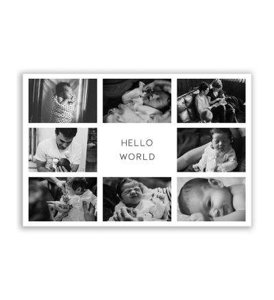 Family Canvas Print And Stretch Rectangle