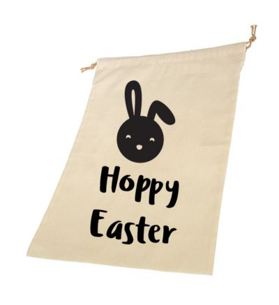 Hoppy Personalised Draw String Bags