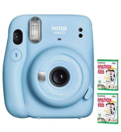 Instax Mini 11 + 2 films - Sky Blue