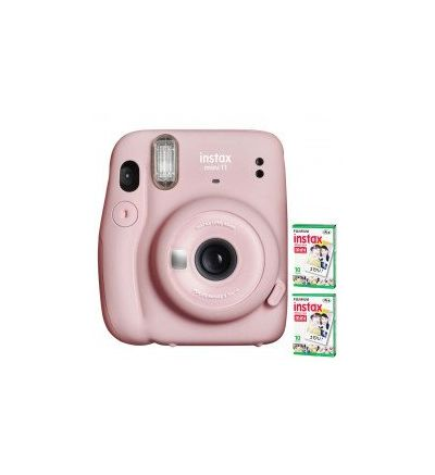 Instax Mini 11 + 2 films - Blush Pink