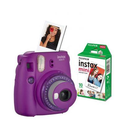 Fujifilm Instax Mini 9 Value Bundle - Violet