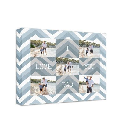 Love Dad Canvas Print And Stretch Rectangle